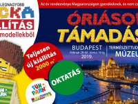 Támadnak az óriások! Jön Európa legnagyobb Lego kocka kiállítása