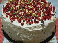 Ünnepi panettone torta